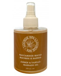 Massage oil jasmine and vanilla