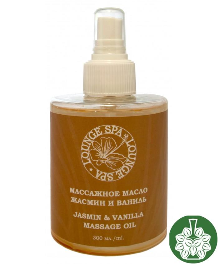 Mассажное масло жасмин и ваниль