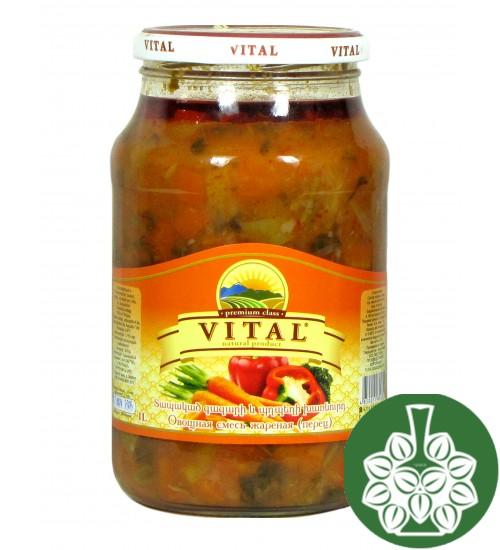 Овощная смесь жаренная ( Vital 1L )