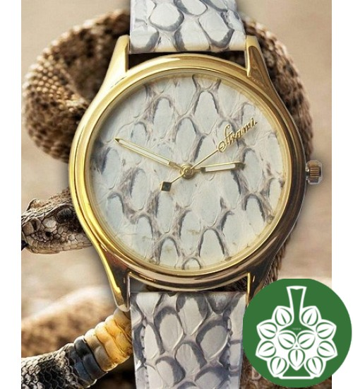 "Wristwatch Arami A-023 ""Scales Of A Rattlesnake"""