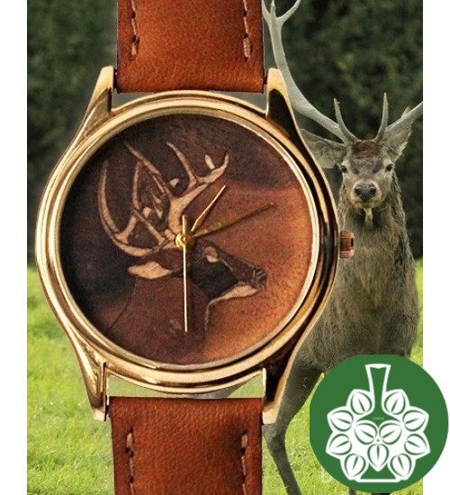 "Wristwatch Arami A-020B ""Deer"""