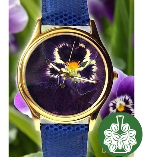 "Wristwatch Arami A-030A ""Petals Of Pansy"""