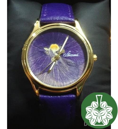 """Wristwatch Arami A-030B """"Petals Of Pansy"""""""