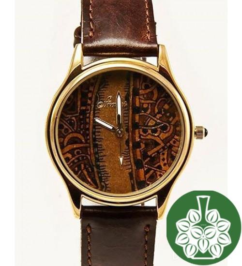 """Wristwatch Arami A-025B """"Miniature On Cigar Leaf"""""""