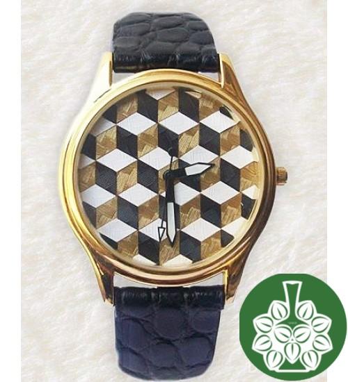 "Wristwatch Arami A-031 ""Mosaic Carbon"""