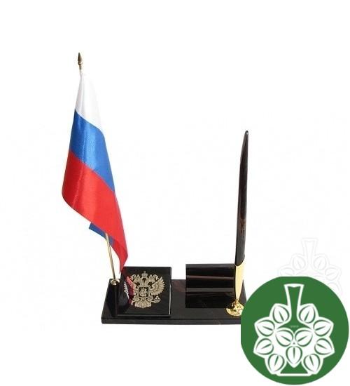 """Письменный набор """"Герб с флагом"""""""