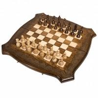 "Шахматы + Нарды резные ""Лоза"" 50, Ohanyan"